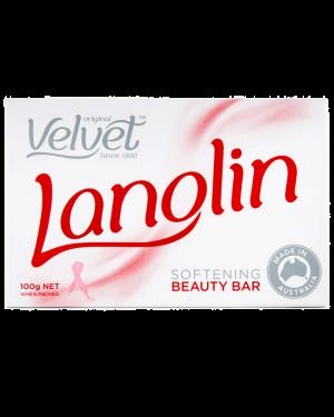 Original Velvet Lanolin Softening Soap Bar 100g