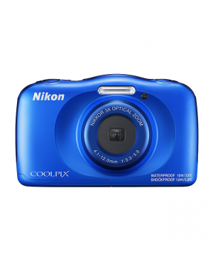 Nikon 09N-W150-BLUE Digital Compact Camera-Image 1