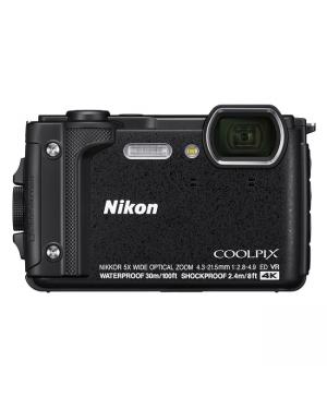 Nikon Digicam Coolpix Black Waterproof-Image 1
