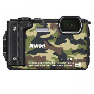Nikon 09N-W300-CAM Digicam COOLPIX Camo Waterproof Image 1