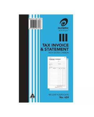 Invoice/ Stat Book Duplicate #624 200MMX125MM