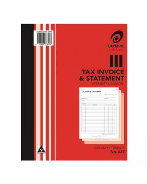 Invoice/Stat Book Duplicate #627
