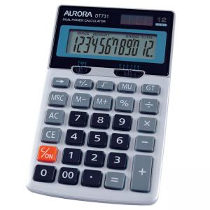 Aurora Calculator DT731/DT286TX 12 Digits Asstd