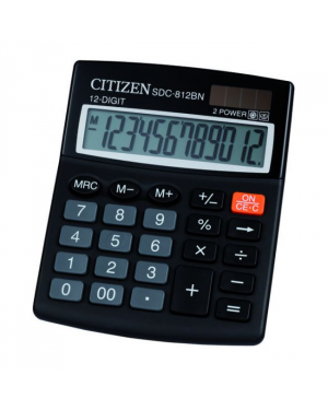 Citizen SDC812BN 12-Digit Calculator