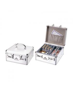 Cash Box Aluminum 8202 280x220x125mm