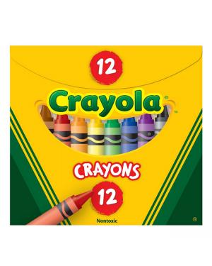 Crayon 12 Color Crayola