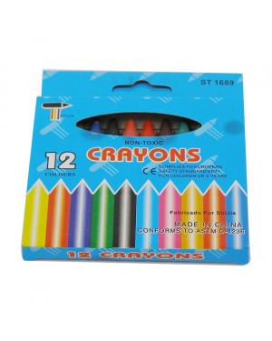 Regular Crayon 12 Colour #2012A