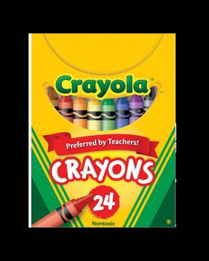 CRAYON 24 COLOR REGULAR  #2024A