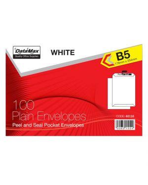 ENVELOPE 178MMX254MM WHITE B5 100/PK