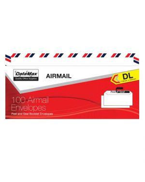 Envelope 110mmx220mm Airmail 100/Pk