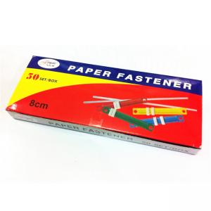 Fastener Plastic 80mm 50/Pk Asst Color #2008