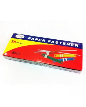 Fastener Plastic 80mm 50/Pk Asst Color-B