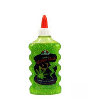 Glitter Glue Tri 6oz Green Elmer's