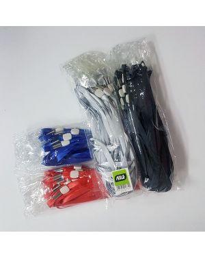 LANYARD W/ CLEAR PLASTIC CLIP 20/PK ASST COLOR
