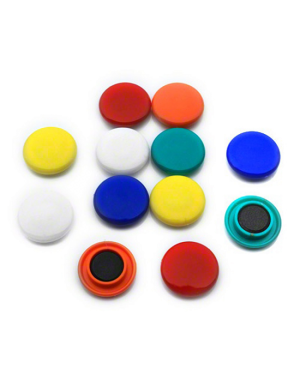 Magnet coloured round 20mm