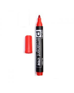 Permanent marker bullet tip Red 10/120/960