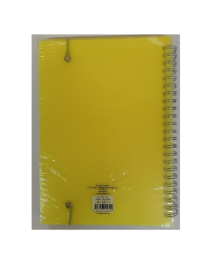 Wire opp cover notebook A7 40s 105x74