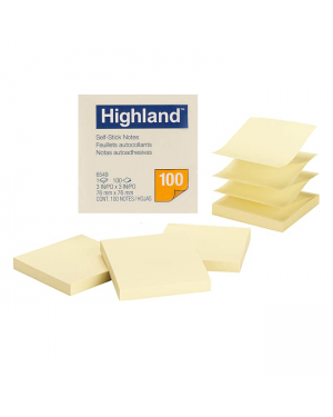 76MMX76MM POST IT NOTEPAD 145 SOLD PER PIECE