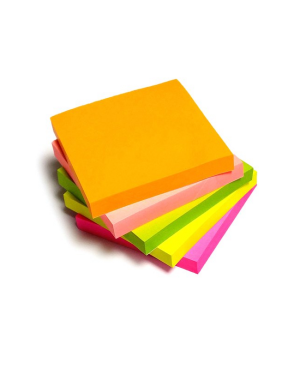 Post It Notepad Sticky Note Neon 100Sht