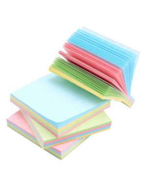 """Note Pad, Sticky, Assorted Color / 3X3 T03"""