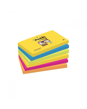 76Mmx127Mm Post It Notepad Sticky Note Asst Color 100Sht B5