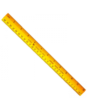 Ruler Wooden Plain H2001 2002
