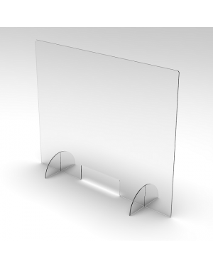 600X600 Reception screen /Sneeze guard-Image 1
