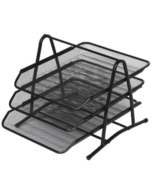 3 TIER FILE TRAY MESHWIRE