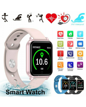 Bluetooth Smart Watch Wrist Phone Call Touch Screen For Android IOS Waterproof-Image 1