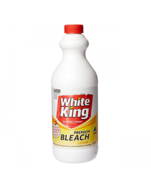 White king bleach lemon 1250ml