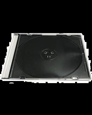 CD Jewel Case Single Thin - Black