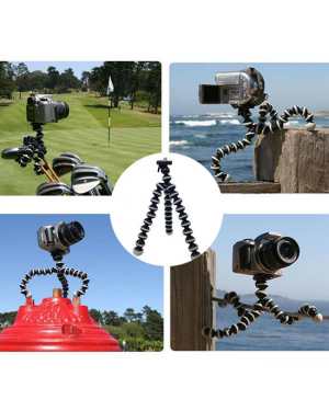 Portable Outdoor Travel Camping Flexible Octopus Stand Tripod Gorilla For Camera-Image 1