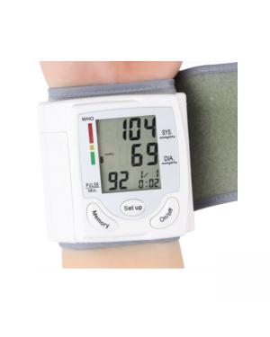 KF_ Automatic Digital Wrist Blood Pressure Monitor Cuff BP Machine Home Medical-Image 3