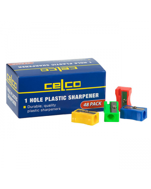 Sharpener 1 Hole Plastic  Celco-Sold Per Piece