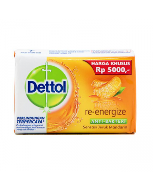 Dettol Hand Soap Re-Energize 110g