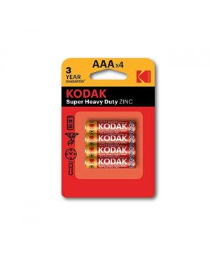 Kodak AAA Extra Heavy Duty Battery 4/Pkt