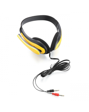 Phone Gaming Noise Cancelling Headset Head Headphone 3.5mm Microphone Headset-Image 3
