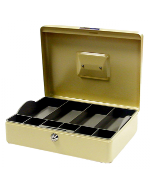 Esselte classic cash box no. 12 beige