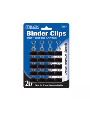19MM Paper Clip 20/PK Bazic Black