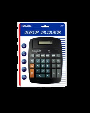 Bazic Calculator Desktop 8 Digit ( W/ Battery)