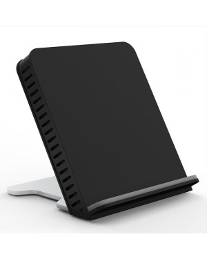 PushStart Qi Certified 10w Fast Charge Horizontal Wireless Stand with Temperature Control-Image 1