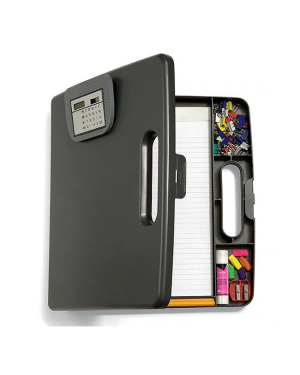 Store and go clipboard with calculator