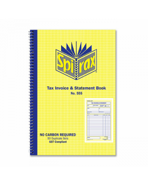 Invoice/Statement Spirax 555 NCR S/O
