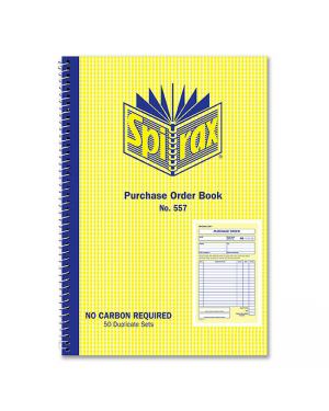 Order book Spirax 557 NCR S/O