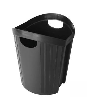 Waste Paper Bin Esselte Nouveau Black