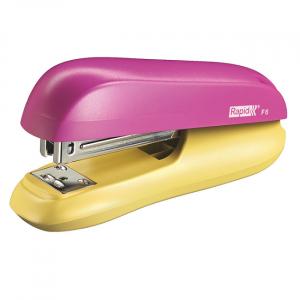 Rapid Stapler F6 Pink/Yellow 0402508