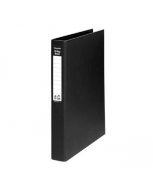 Ring Binder A4-25Mm 2D Pe Black Colourhide