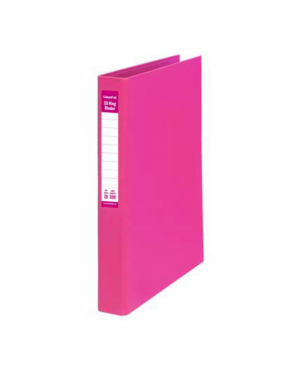 Ring Binder A4-25Mm 2D Pe Pink Colourhide