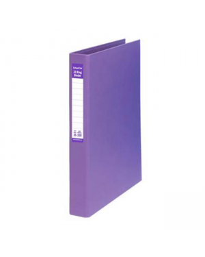 Ring Binder A4-25Mm 2D Pe Purple Colourhide