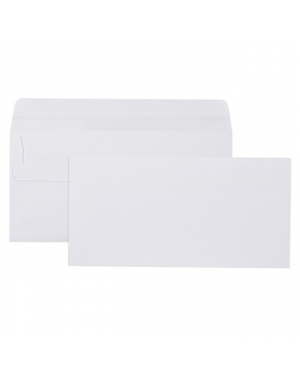 Envelope 110mmx220mm DL white - SOLD PER PIECE